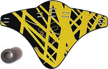 JOllify Carbon Mud Guard Fender für MTB Mountainbike – CARBON BEDRUCKT GELB - #514