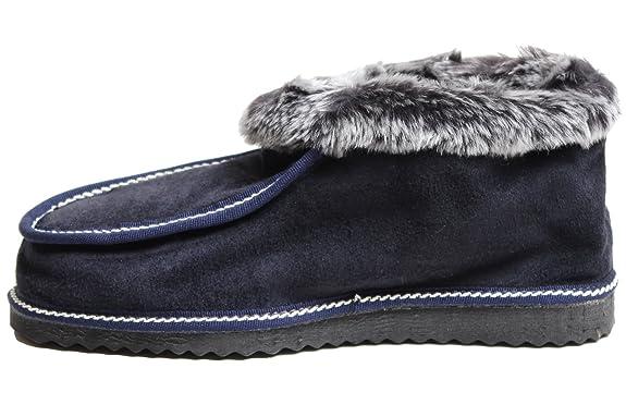 Brubaker Chalet Chaussette Unisexe, Chaussures En Peau De Mouton, De La Taille: Euro 35-47, Brun (brun), 38?