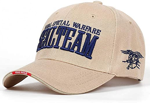 SHENBEIK Gorra Beisbol Hombre Navy Seal Team Tactical Cap ...