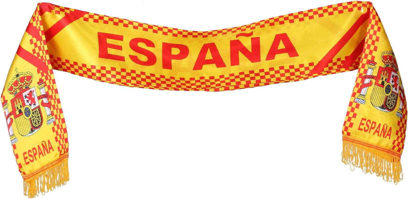 Atosa - B-Solapa/ Bufanda españa 14x130 cm: Amazon.es: Juguetes y juegos