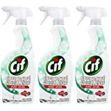 Cif Pistolet Spray Nettoyant Efficacité & Brillance Javel 750ml - Lot de 3