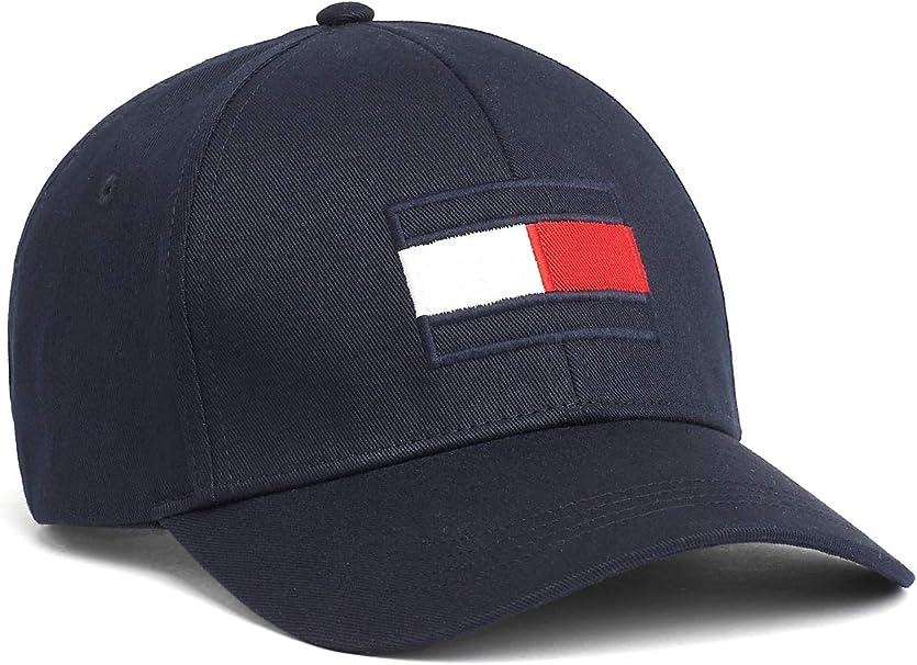 Tommy Hilfiger Big Flag Cap Gorra de béisbol para Hombre: Amazon ...