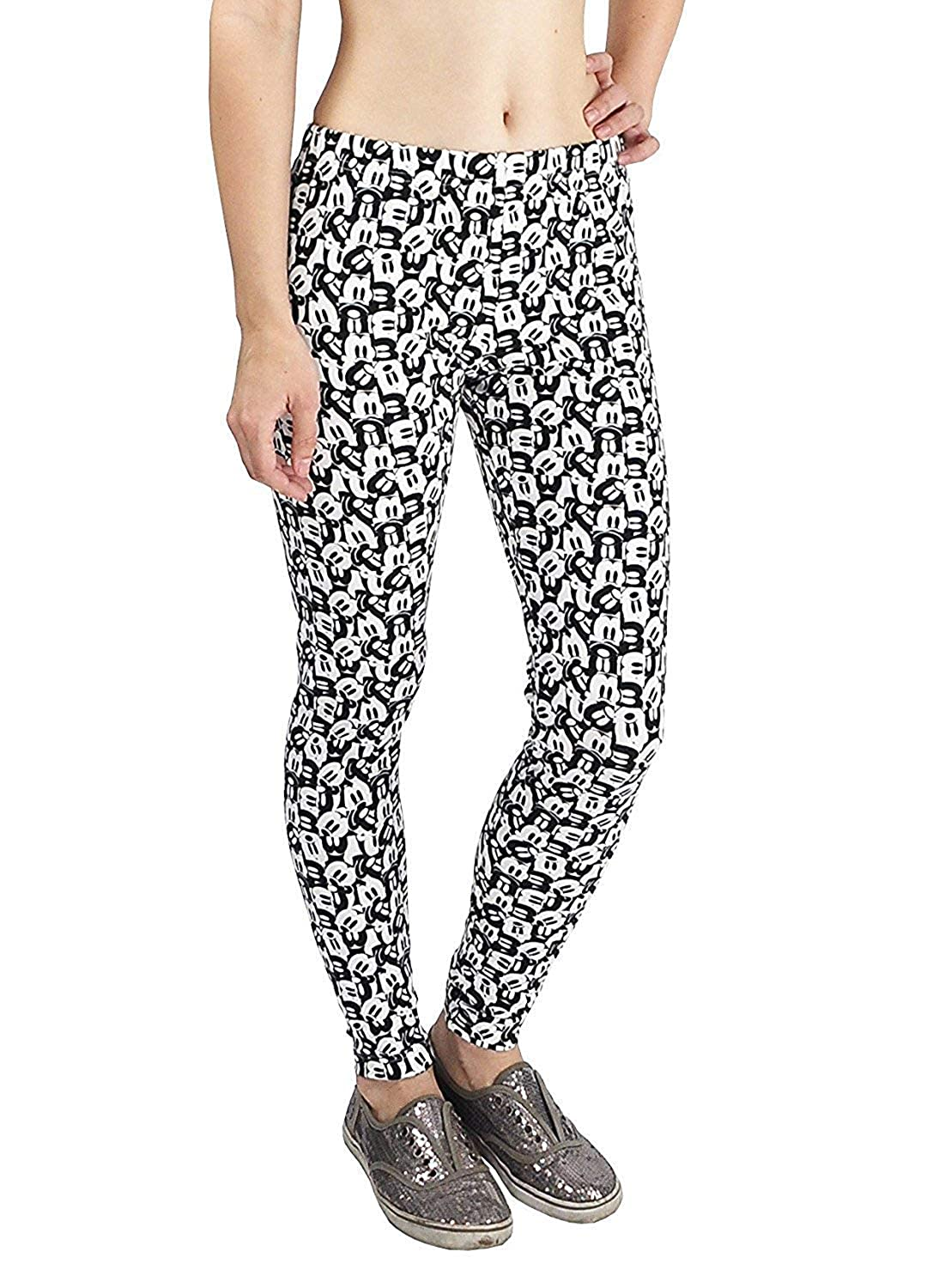 Disney Juniors Mickey Mouse Allover Print Leggings