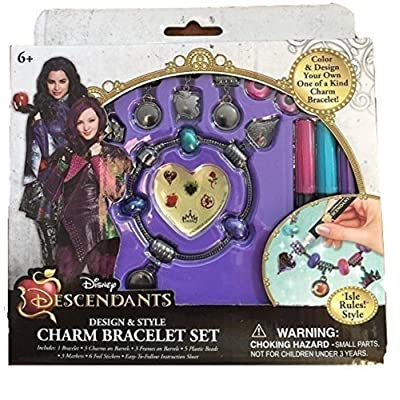 Disney Descendants Design & Style Charm Bracelets Set - Isle Rules: Toys & Games