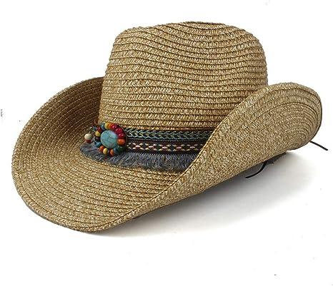 JiuRui Sombreros y Gorras Verano Sombreros for el Sol, Estilo ...