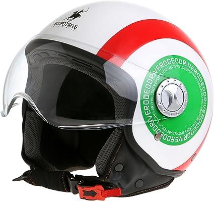 Amazon.es: Rodeo Drive Casco de Moto D/Jet Sforabile, Bandera ...