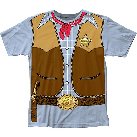 Cowboy Costume Tee (slim fit) T-Shirt Size XXL