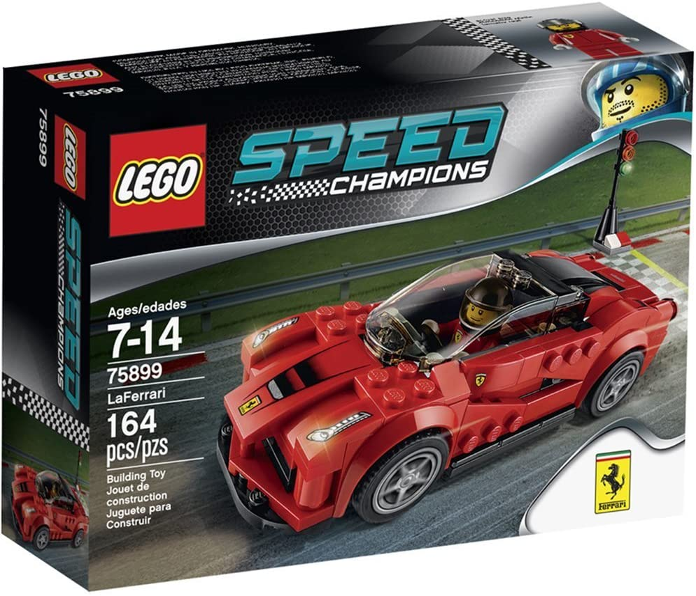 Lego 75899 Speed Champions La Ferrari Amazon De Spielzeug