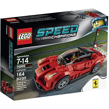 Amazon.com: Lego Speed Champions LaFerrari 75899: Toys & Games