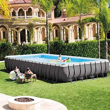 INTEX Piscina Ultra Frame 9,75 m x 4,88 m x 1,32 m: Amazon.es ...