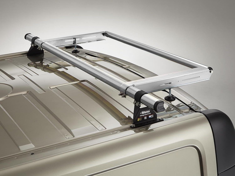 Rhino Delta Bar Rear Steel Ladder Roller System for VW Transporter T5 SWB, Tailgate 03-15