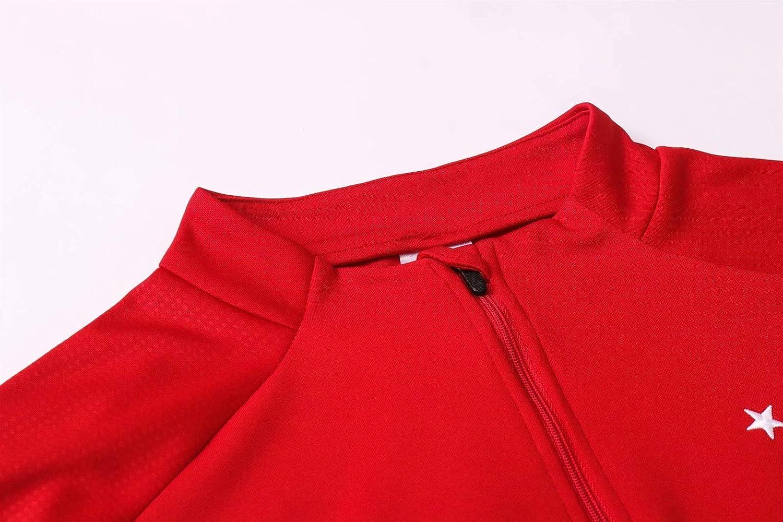 Suivi de Jogging Haut /& Pantalon V/êtements de Gymnase Unisexe Full Zip Jerseys Costume LQRYJDZ Ajax Casual Training V/êtements V/êtements de Sport