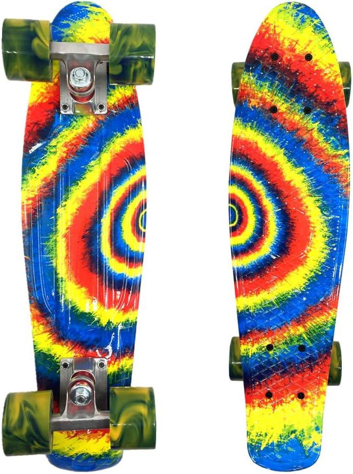 wonnv Retro Mini Cruiser 22 inch Complete Skateboard / US