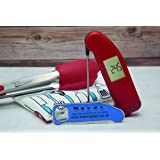 SuperFast Thermapen 4 Thermometer with FREE set of BBQ accessories (Red)