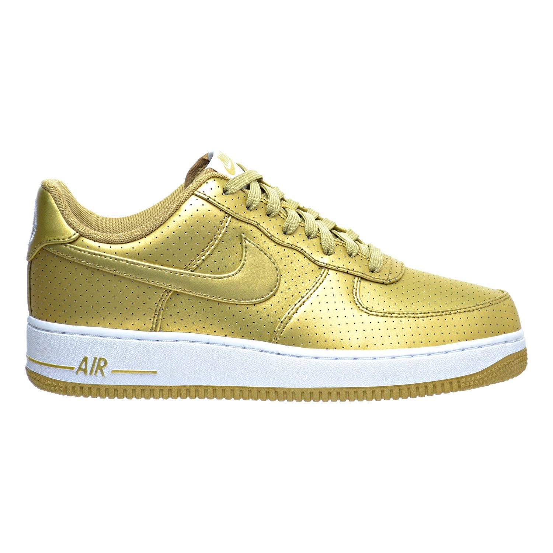Nike Force 1 Lv8 Goldwhite Cheap Shoes '07 Men's Metallic