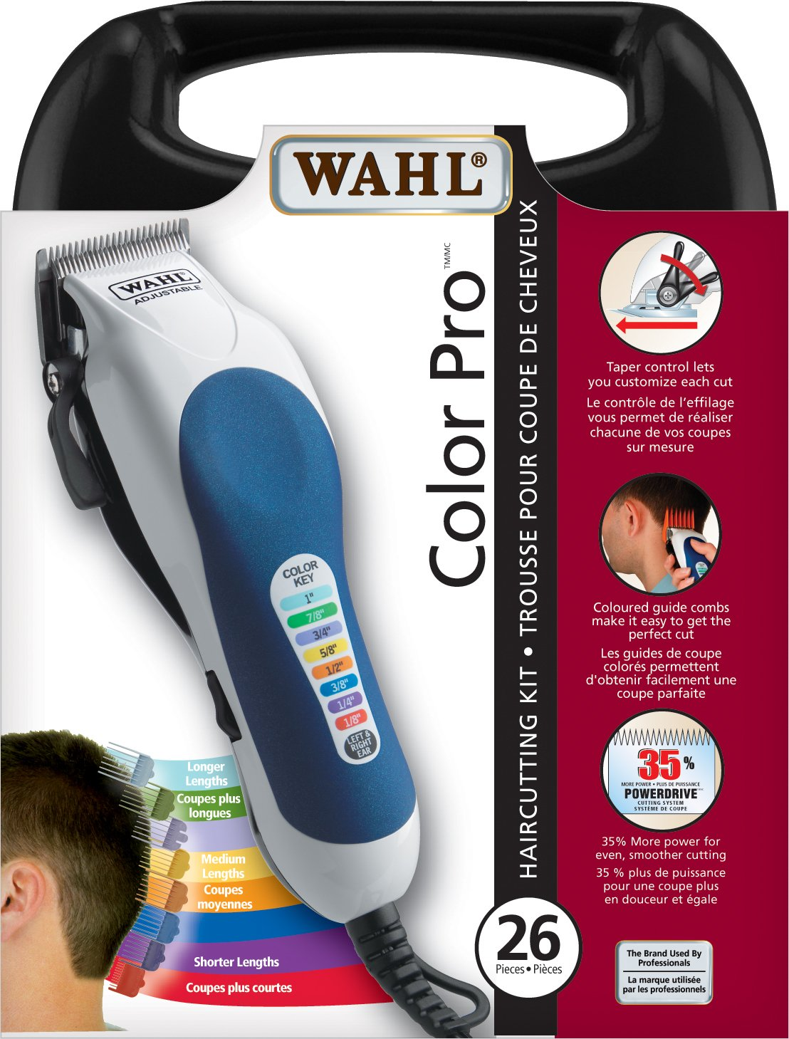 Wahl 3183 Color Pro Haircutting Kit Wahl Canada