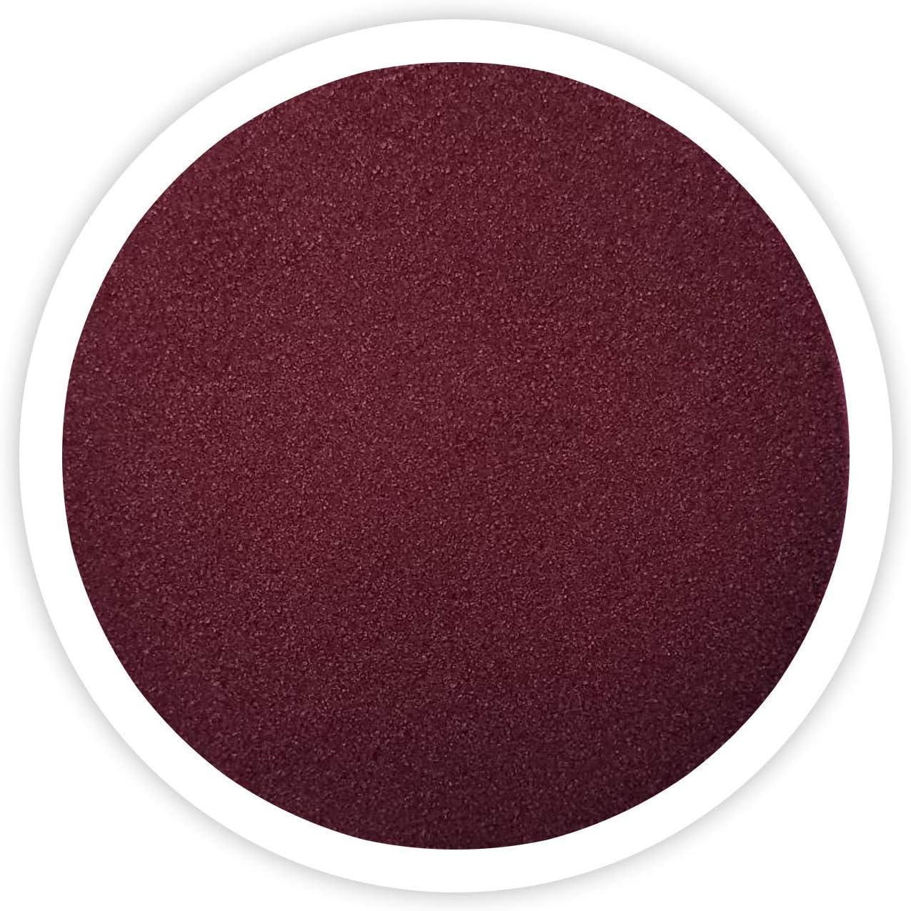 Sandsational Burgundy Unity Sand~1.5 lbs (22 oz), Burgundy Colored Sand for Weddings, Vase Filler, Home Decor, Craft Sand