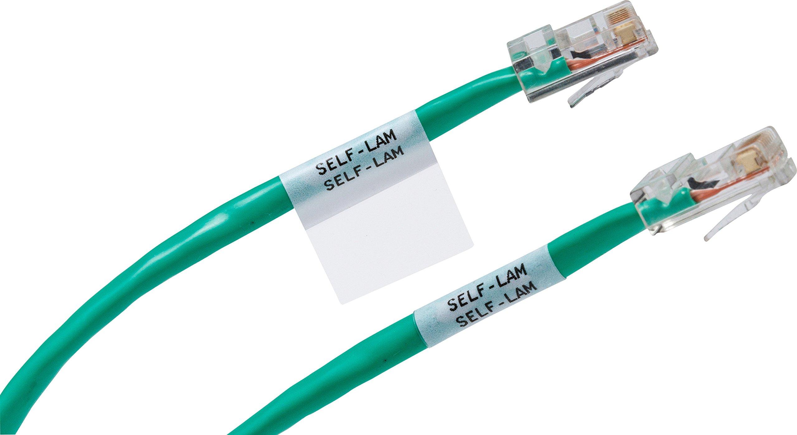 Brady High Adhesion Cloth Label Tape M21 375 499 Black On Wiring