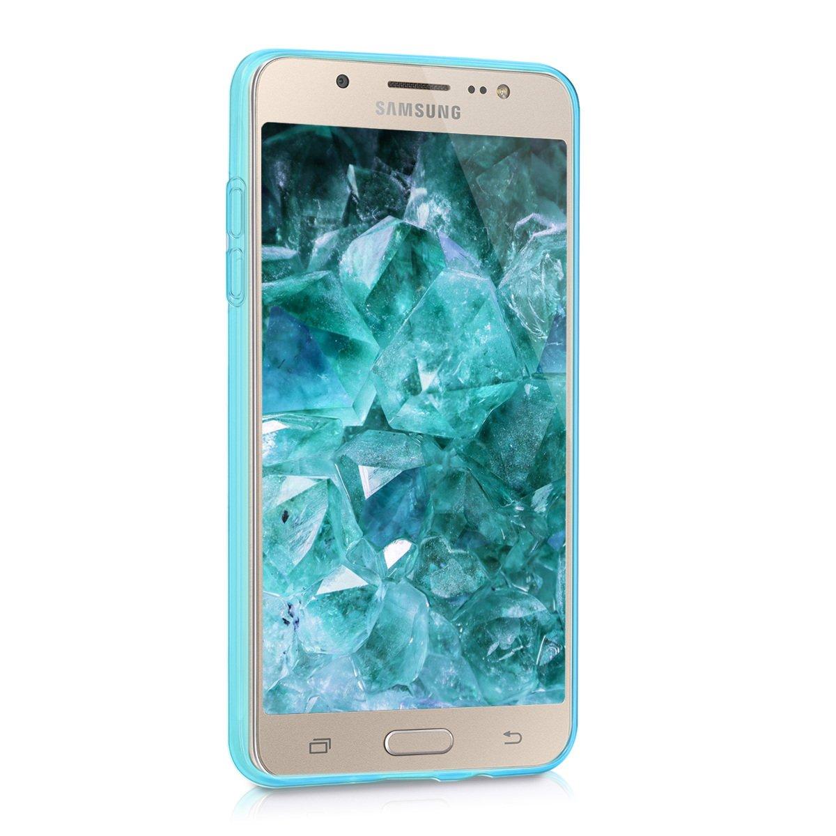 kwmobile Funda para Samsung Galaxy J5 (2016) DUOS - Carcasa Protectora de [TPU] para móvil - Cover [Trasero] en [Azul]