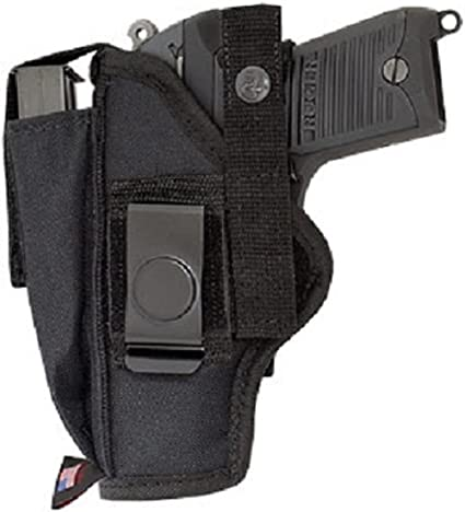 """Gun Holster with Built In Extra Magazine Pouch fits Beretta Px4 with 4/"""" barrel"""