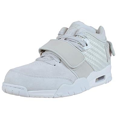 e4a8c7c9245e Nike Men s Air Trainer Cruz Grey Suede Crosstraining Shoe 13