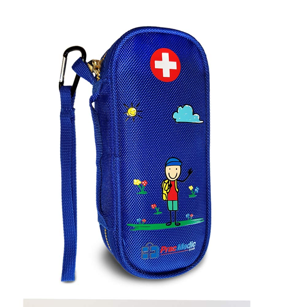Pracmedic Epipen Carrying Case For Kids Holds 2 Epi Pens Or Auvi Q