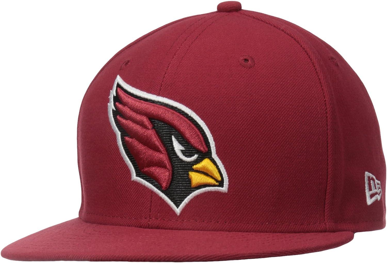 New Era 59Fifty Cap NFL ON FIELD Arizona Cardinals schwarz