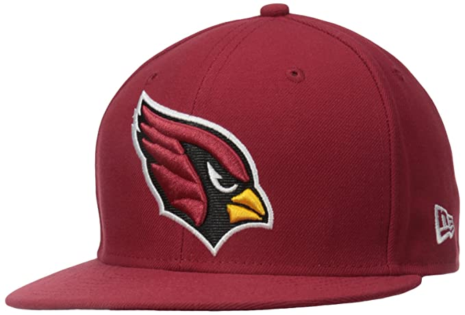 quality design 42f4b f90c0 Amazon.com   NFL Mens Arizona Cardinals On Field 5950 Cardinal Red Game Cap  By New Era   Sports Fan Baseball Caps   Clothing