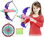 SubClap Bow and Arrow Toy Archery Set for Kids with 25