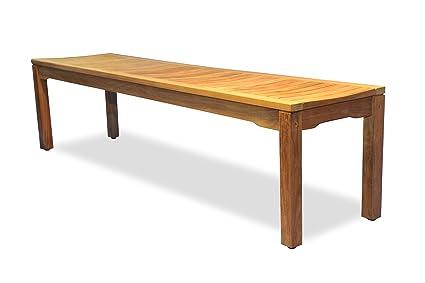 Prime Goldenteak Teak Backless Bench 72 Ncnpc Chair Design For Home Ncnpcorg