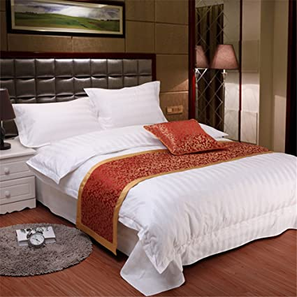 Amazon Bed Runner And Pillow SetLuxury Decorative Bed End Beauteous Luxury Decorative Bed Pillows