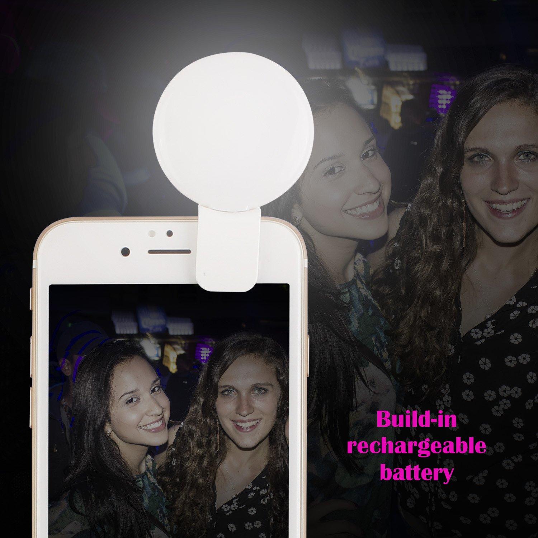 anneau led selfie pour iphone