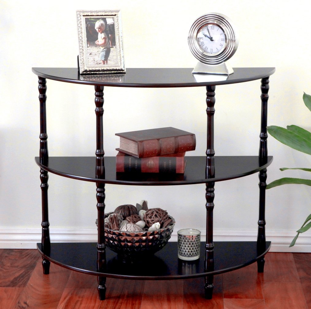 Amazon.com: Frenchi Furniture Half Moon Console Table: Kitchen U0026 Dining