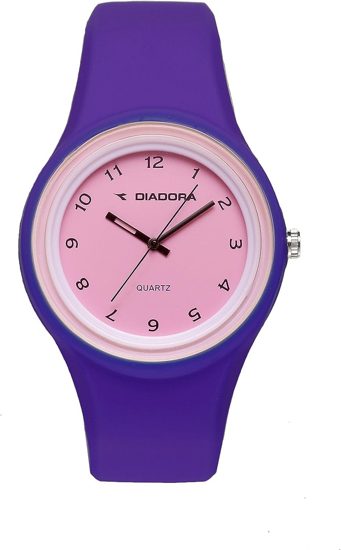 Diadora Reloj de Cuarzo Gummy 44 mm