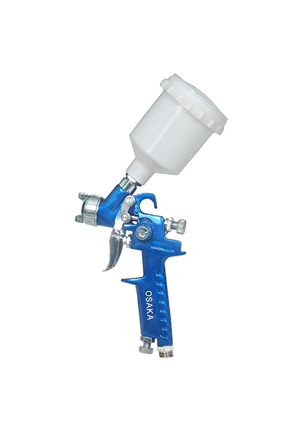 Paint Spray Gun Online India Part - 19: Buy Osaka Aluminium Mini Touch Up Spray Gun (Blue) Online At Low Prices In  India - Amazon.in