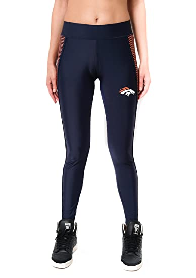 d7a069652693f Amazon.com : ICER Brands NFL Women's Leggings Fitness Workout Running Yoga  Pants, Team Color : Clothing