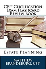 CFP Certification Exam Flashcard Review Book: Estate Planning (2019 Edition) Paperback