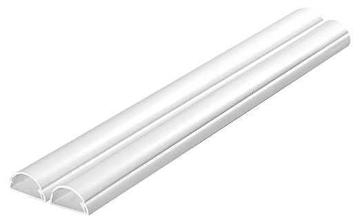 30 opinioni per D-Line Canalina per cavo media, 30 x 15 mm 1 m, confezione da 2, colore: Bianco