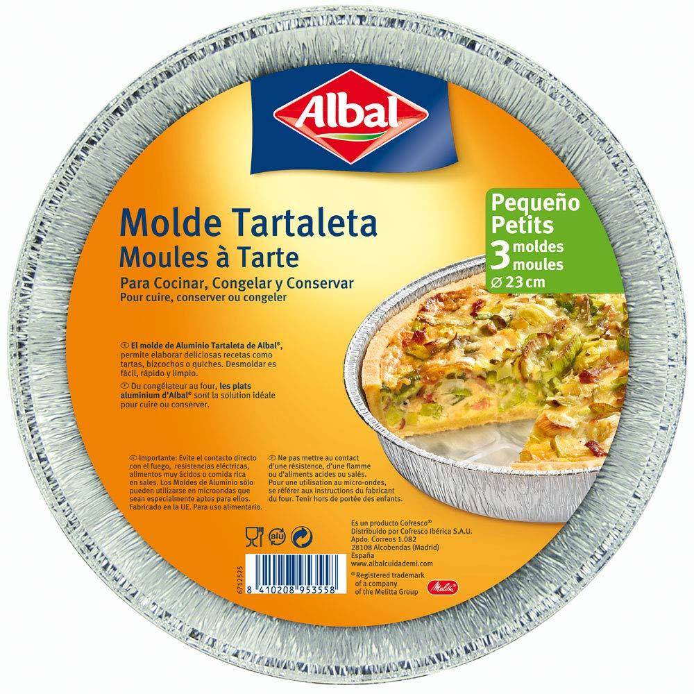 Amazon.com: Albal Aluminium Round, 23 cm Pan | Disposable ...