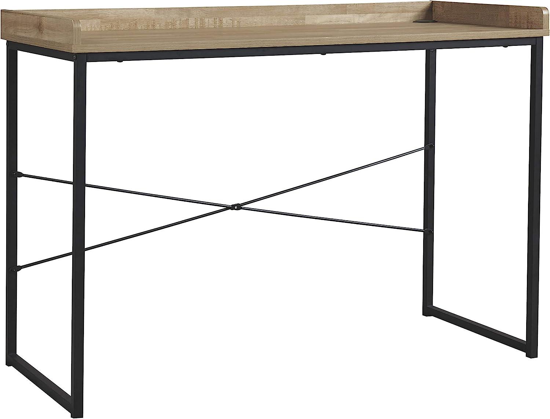 Signature Design by Ashley Gerdanet Home Office Desk Light Brown