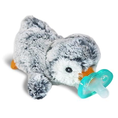 RaZbaby RaZ-Buddy JollyPop Pacifier Holder / Pacifier Removable / Penguin