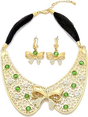 Joyería Conjuntos para niñas disfraz de africana collar y ...