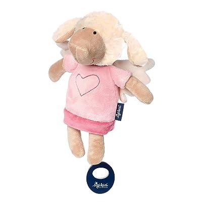 Sigikid 42371 Music Box Sheep Blue Pink: Baby