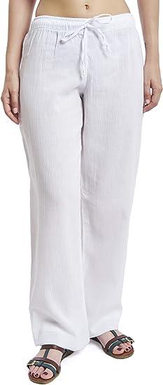 J Ce Pantalones De Playa Y Pijama De Algodon Para Mujer Amazon Com Mx Ropa Zapatos Y Accesorios
