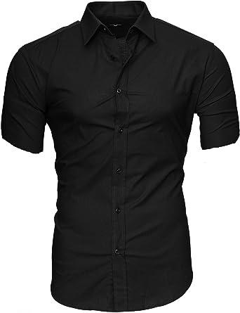Kayhan Hombre Camisa Manga Corta Slim Fit S - 6XL - Uni, Hawaii: Amazon.es: Ropa y accesorios