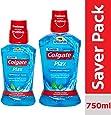 Colgate Plax Peppermint Fresh Mouthwash – 250 ml with Colgate Plax Peppermint Fresh Mouthwash – 500 ml