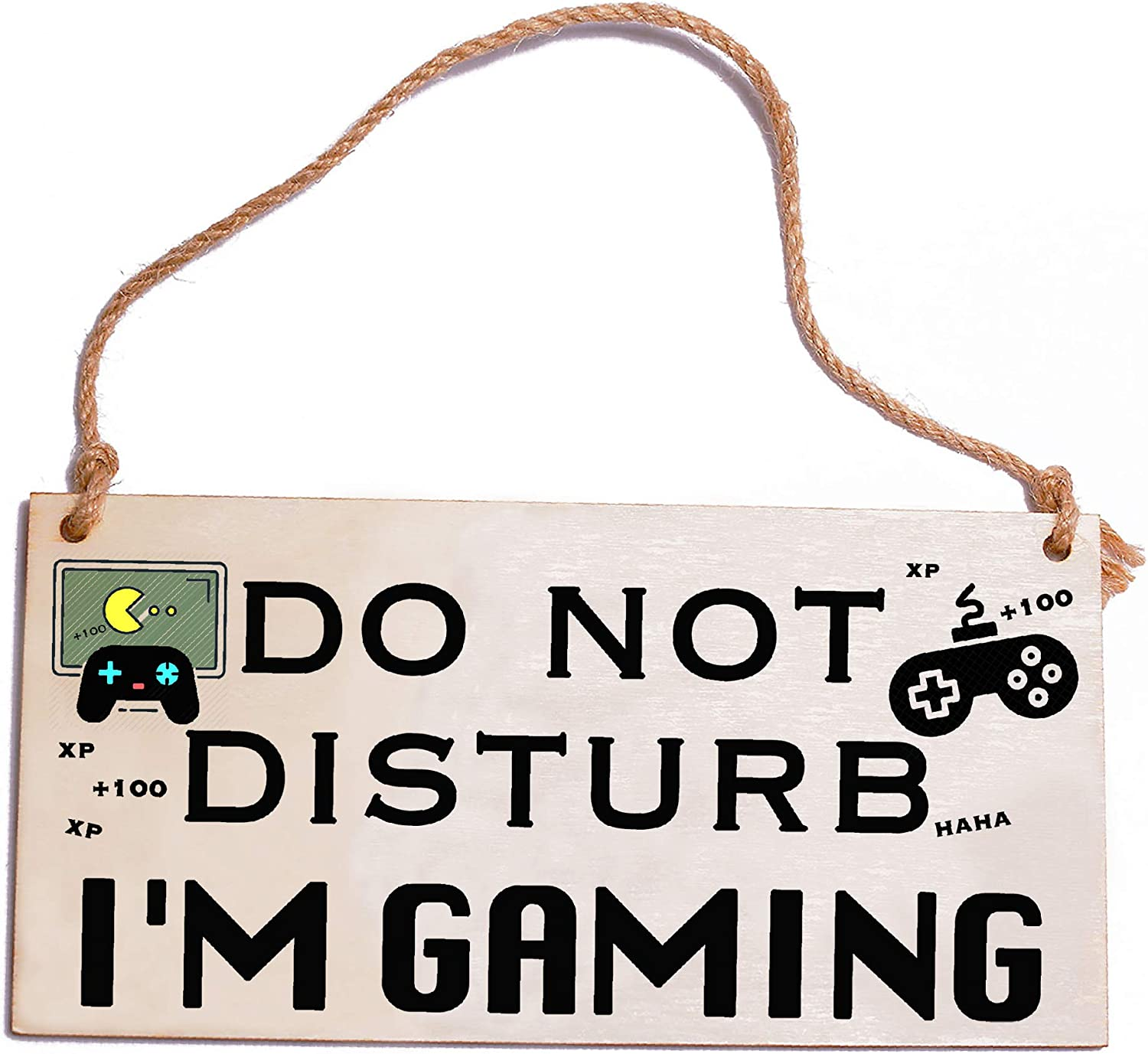 HONZEE Gaming Gifts for Teen Boys Girls Do Not Disturb I'm Gaming Funny Gifts Teen Boy Room Decor Gaming Sign Birthday Gifts for Teenager Boys Gaming Accessories for Boy Girl Teen Room Decor