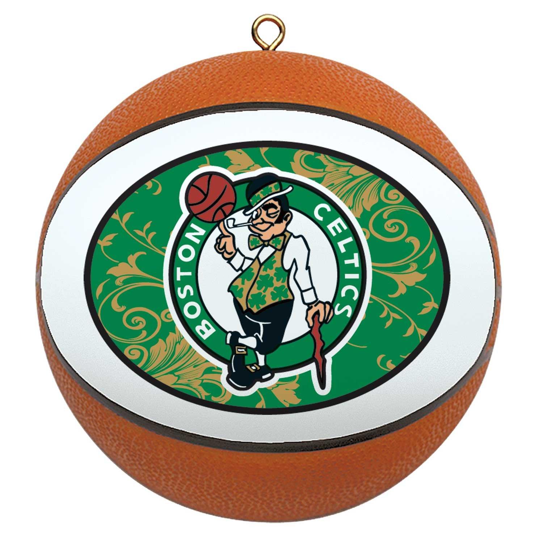 Amazon : Nba Boston Celtics Mini Replica Basketball Ornament :  Decorative Hanging Ornaments : Sports & Outdoors