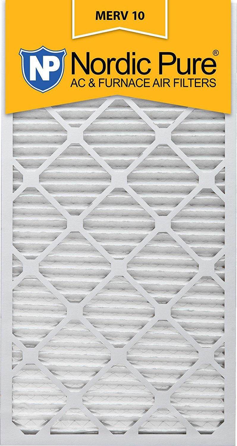 Box of 6 Nordic Pure 20x30x1 MERV 10 Pleated AC Furnace Air Filter