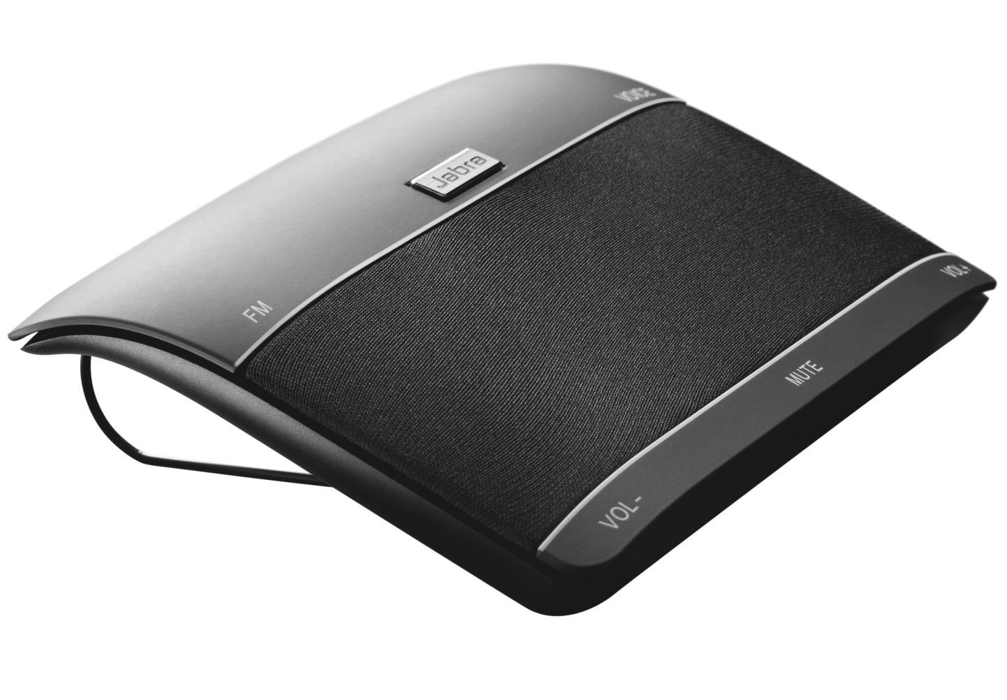 Jabra 100-46000000-02 Freeway Bluetooth In-Car Speakerphone (U.S. Retail Packaging) (Renewed)